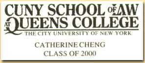 Catherine's Law School Business Card